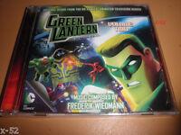 GREEN LANTERN tas the Animated Series SOUNDTRACK vol 2 CD dc universe