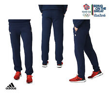 ADIDAS STELLA McCARTNEY TEAM GB RIO 2016 ELITE ATHLETE VILLAGE PANTS Size S 30""