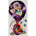 Violet by Dave Sanchez Mexican Sugar Skull Girl Tattoo Fine Art Poster Print