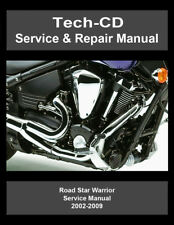 Yamaha Road Star Warrior Repair Manual 2002 2003 2004 2005 2006 2007 2008 2009