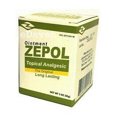 ZEPOL ANALGESIC 3 oz Muscles, Joints, Backache, Strains, Bruises & Sprains LARGE