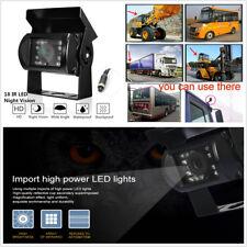 12V/24V 18 IR LED Car Truck Rear View Reverse Backup CCTV HD Camera Night Vision