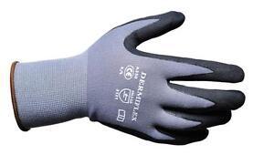 Portwest A350 DermiFlex Safety Work Wear Gloves PU Nitrile Foam - Various Sizes