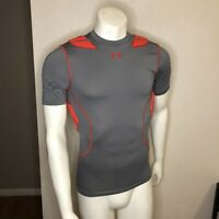 Under Armour Football Padded Shirt Compression Gray 1236233-041 Medium