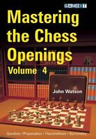 Mastering the Chess Openings, volume 4. NEW CHESS BOOK