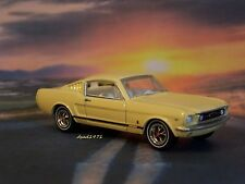1965 65 FORD MUSTANG GT FASTBACK 1/64 SCALE DIECAST MODEL DIORAMA COLLECTIBLE