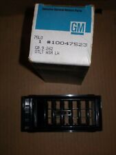 NOS 1988-90 CHEVROLET CAVALIER LEFT HAND SIDE AIR OUTLET DUCT VENT 10047523