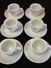 Espresso coffee cup. 12 pc cup and saucer set. CH26 Cuban Coffee Cup Saucer Set