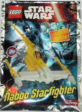 LEGO Star Wars Naboo Starfighter (911609) NEW Factory Sealed in Foil Bag
