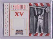 SWEET 2012 PANINI AMERICANA TOMMY KONO RELIC CARD ~ OLYMPIC WEIGHTLIFTING LEGEND