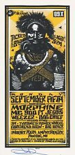 MINT & SIGNED 311 Morphine Weezer 1994 Pontiac Arminski YELLOW Handbill