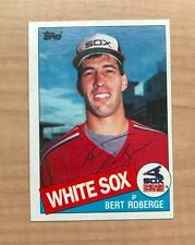 BERT ROBERGE CHICAGO WHITE SOX SIGNED AUTOGRAPHED 1985 TOPPS CARD #388 W/COA