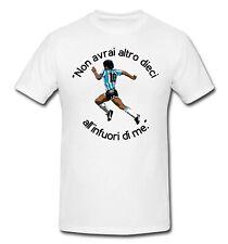 T-Shirt Maglia Maglietta DIEGO ARMANDO MARADONA PIBE DE ORO NAPOLI ARGENTINA