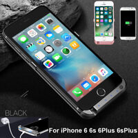 Portable Power Bank Back Pack USB Battery Charger Case Cover For iPhone 6 6sPlus
