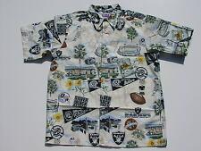 Raiders & Niners NFL Licensed Hawaiian Shirts, sizes M, L, XL, XXL, XXXL, XXXXL