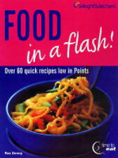 Weight Watchers Food in a Flash, By Roz Denny,in Used but Acceptable condition