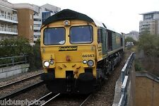 Freightliner 66563 Imperial Wharf 2012 Rail Photo