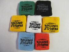 Rolling Stones '97-'98 Bridges To Babylon Era Wrist Sweat Bands Colors Set Of 7