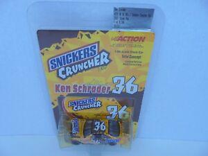 Ken Schrader #36 M&M Snickers 2001 Pontiac Grand Prix 64th Action Nascar Diecast