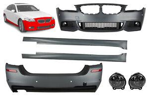 Body kit BMW F10 5 series M Sport Front Rear Bumper conversion Side skirts M Tec