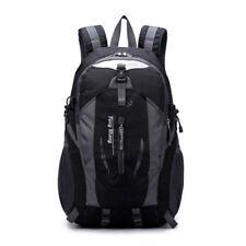 Travel Sport Shoulder Backpack Hiking Waterproof Zipper Laptop Bag School Bag E