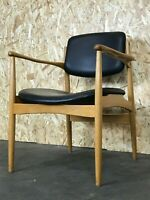 60er 70er Jahre Stuhl Dining Chair Arm Chair Danish Design Oak Eiche Denmark 60s