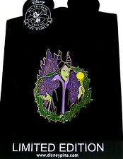 RARE LE 125 Disney Pin✿Villain Maleficent Evil Diva Green Flames Sleeping Beauty