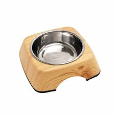 KARLIE - Comedero kulho Wood Pino - 160 ML - bebedero para Gato Perro