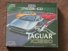 Jaguar XJ220 **Complete including Manual** Sega Mega CD PAL     (RARE)