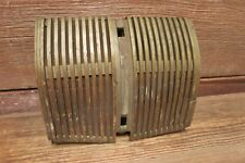 Vintage RARE 30-50s Car Truck Radio Speaker Dash Cover Plate CHEVY FORD CHRYSLER