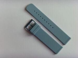 Uhrband SILIKON hellblau blue SKAGEN original SKW6509 strap 20 mm