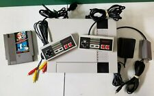 Nintendo NES-001 console bundle 2 controllers AC adapter Duck Hunt AV cable
