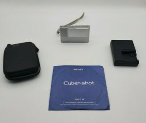 Sony Cyber-Shot DSC-T10 7.2MP Digital Camera - Silver