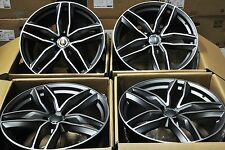"19"" NEW AUDI RS6 AVANT STYLE WHEELS RIMS FITS A3 A4 A6 S3 S4 S6 RS4 Q3 TT 1196"