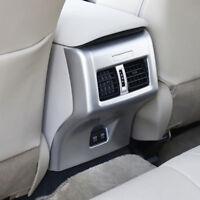 For TOYOTA Camry 2018 2019 Car Inner Matte Rear Armrest Air Vent Outlet Trim