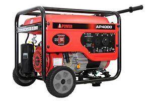 A-iPower AP4000, 4000 Peak Watt Generator with 3000 Running Watts