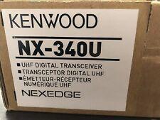 Kenwood Nx-340U16P2 Uhf Digital Transceiver. Nexedge Professional Business Radio