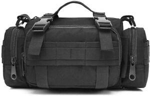 Men Duffel Waist Bag Gym Bag Tactical Duffle Bag Military Travel Work Out Bag US