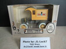 Ertl 1905 Ford Delivery Car Locking Coin Bank DieCast Metal Collectible 1/25 Nip