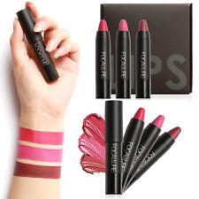 FOCALLURE 3X Set Make up Pen Matt Lippenstift Wasserdicht Velvet Lip Gloss ~