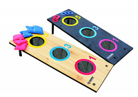 Bean Bag Toss Boards Cornhole Corn Hole Game Board Set 3 Bags Lawn Value Washer