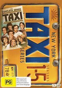Taxi the complete season series 1, 2, 3, 4 & 5 DVD Box Set 2017, 17-Disc Set R4