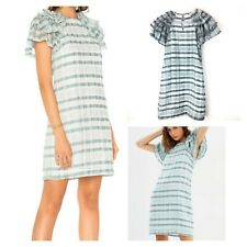 Elliatt unity dress $190 Shimmery Teal And White Size S
