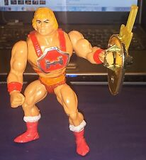 Vintage Thunder Punch He Man 100% Complete w/ Mini Comic Masters of the Universe