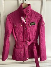 barbour pink jacket/ Coat Xs Size 6