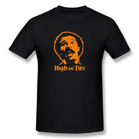 New HIGH ON FIRE Concer Japan Band Men's T-Shirt Black