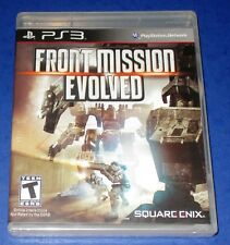 Front Mission Evolved Sony PlayStation 3 *New! *Sealed! *Free Shipping!