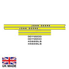 Decal Set Fits John Deere 1030 1130 1630 2030 2130 3030 3130 tracteurs.