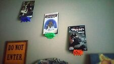 Comic Book Display Shelf - Pow, Crash, Kaboom, Splat, Bang - 3D Printed Display