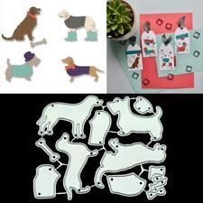 Cute Dogs Metal Cutting Dies Stencil DIY Scrapbooking Album Paper Card Crafts